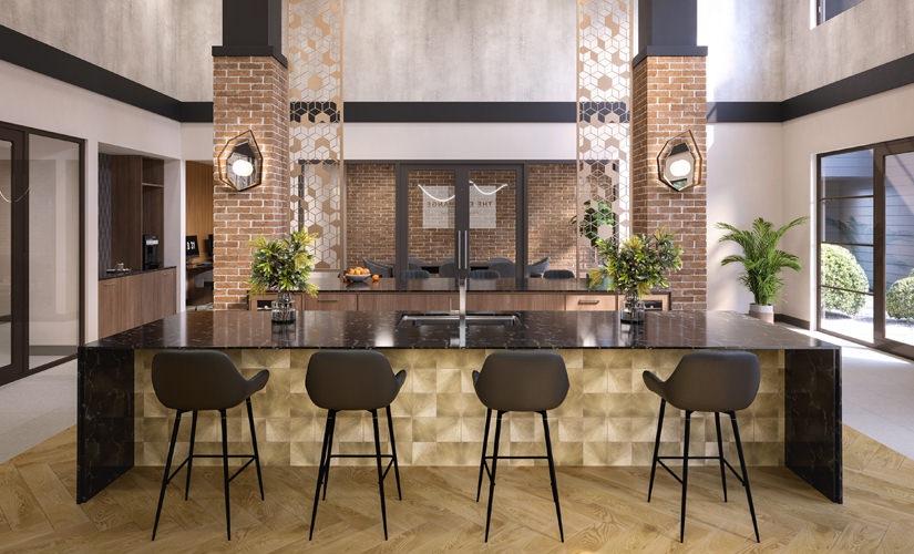 Resident Lounge Kitchen